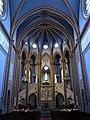 195 Santuari de la Misericòrdia (Canet de Mar), nau i presbiteri.JPG