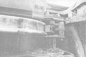 1971 Salem, Illinois, derailment - Image: 1971 Salem, Illinois derailment flat wheel