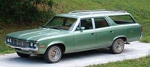 AMC Matador - 1972 AMC Matador station wagon