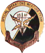 1986-2001 Béret SOWT de l'US Air Force Flash.png
