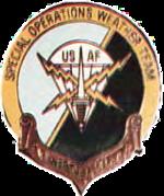 1986-2001 SOWT Beret Flash.png da Força Aérea dos EUA