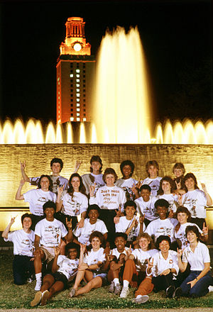 1986 NCAA Division I Women's Basketball Tournament - Image: 1986 natl champ tower s 001
