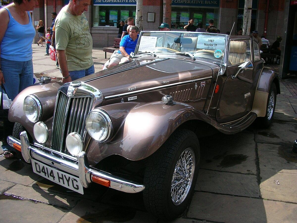 Front Wheel Drive Cars >> Naylor TF 1700 - Wikipedia
