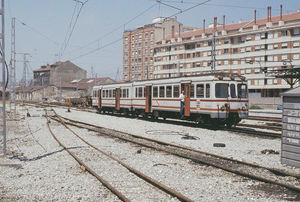 19880710c Estación de El Humedal Gijón