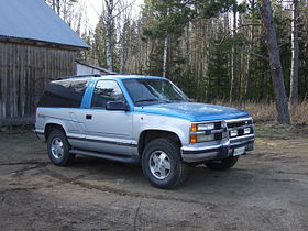 Chevrolet K5 Blazer - The complete information and online