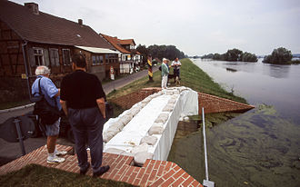 1997 Central European flood - Zollbrücke, Germany