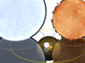 1e10m comparison Rigel, Aldebaran, and smaller - antialiased transparency.png