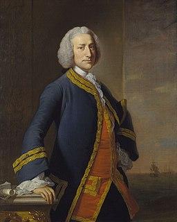 George Anson, 1st Baron Anson 18th-century British admiral