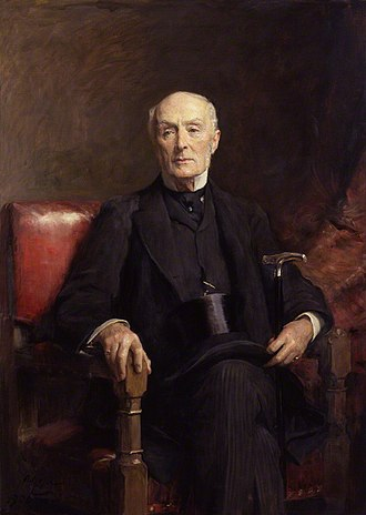 Henry Holland, 1st Viscount Knutsford - Knutsford by Arthur Stockdale Cope (1906).