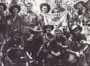 2/4th Commando Squadron (Australia) - Members of the Australian 2/4th Commando Squadron on Tarakan Island in June 1945