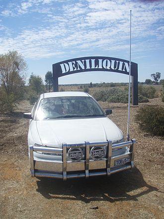Ute muster - Holden VZ Ute at Deniliquin in 2008.