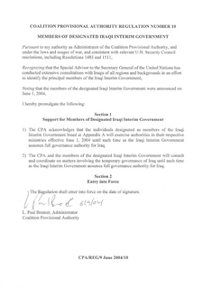 United Nations Security Council Resolution 1546 United Nations Security Council resolution