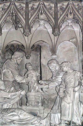 """""""Scène de la circoncision de Jésus"""",..."""