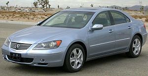 Acura RL - 2005 Acura RL (US)