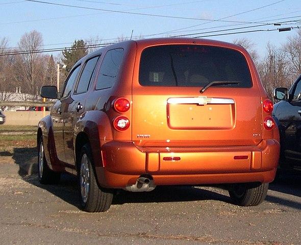 File 2006 Chevrolet Hhr Rear Jpg Wikimedia Commons