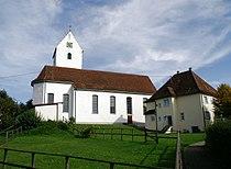 2007-10-03 Cosmas-Daminan-Kirche D78355-Hohenfels-Liggersdorf RobertDietz.jpg