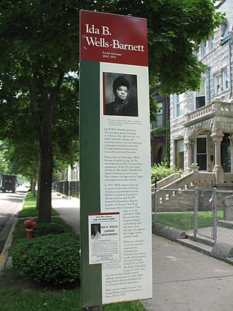 Ida B. Wells-Barnett House - Image: 20070601 Wells House (3)