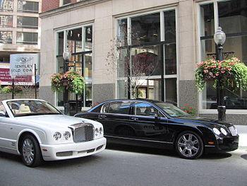 Bentley Gold Coast Showroom on Rush Street Cat...