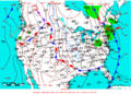 2008-04-29 Surface Weather Map NOAA.png