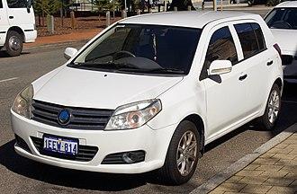 Geely MK - Image: 2009 2013 Geely MK GL hatchback (2018 07 19) 01