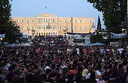 20110630 Indignados Syntagma general mass Athens Greece