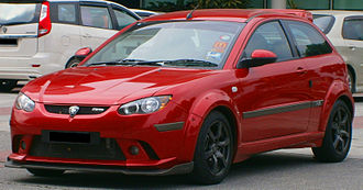 PROTON Holdings - The Proton Satria Neo.