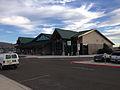 2014-09-23 17 29 47 Terminal building at Elko Regional Airport in Elko, Nevada.JPG