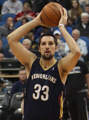 Ryan Anderson (basketball, born 1988) - Anderson with the Pelicans in 2014