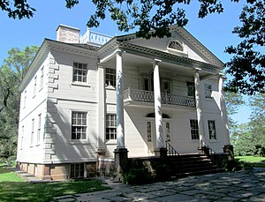 Morris–Jumel Mansion - Image: 2014 Morris Jumel Mansion from southwest