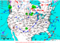 2015-10-12 Surface Weather Map NOAA.png