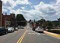 2016-07-19 15 00 25 View west along U.S. Route 211 Business (Main Street) at U.S. Route 340 Business (Broad Street) in Luray, Page County, Virginia.jpg