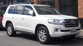Toyota Land Cruiser - Toyota Land Cruiser VX wagon (VDJ200R)