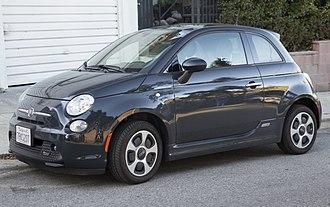 Fiat 500 (2007) - 2016 Fiat 500e (US)
