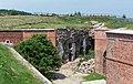 2016 Twierdza Srebrna Góra, fort główny (donżon) 11.jpg