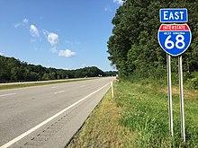 Route 522 Virginia Map.Interstate 68 Wikipedia