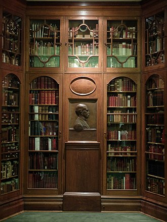 Osler Library of the History of Medicine - Osler's relief in the library
