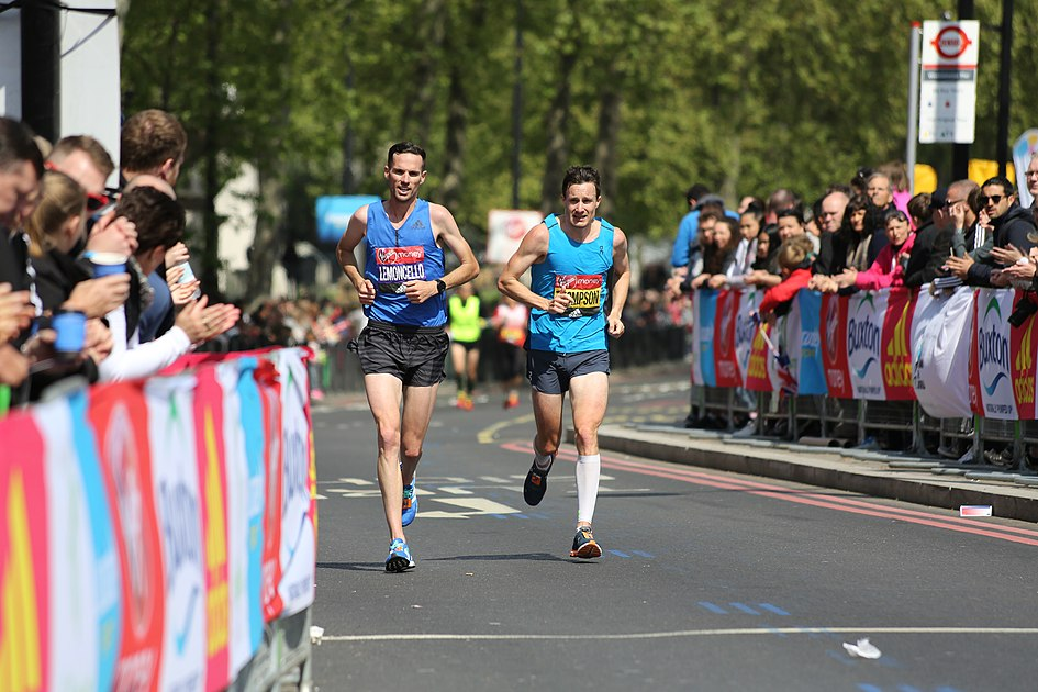 2017 London Marathon - Andrew Lemoncello & Chris Thompson.jpg