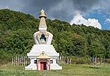 2018 Stupa w Gompie Drophan Ling w Darnkowie 03.jpg