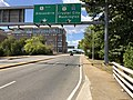 2019-09-18 13 48 33 View west from the east end of Virginia State Route 233 (Airport Viaduct) in Crystal City, Arlington County, Virginia.jpg