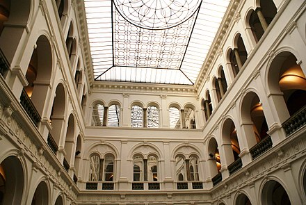 Interior of the National Museum in Wroclaw, which holds one of the largest collections of contemporary art in the country 2658 Muzeum Narodowe. Foto Barbara Maliszewska.jpg