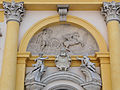 281012 Mythological scene as a bas-relief on the western facade of the Wilanów Palace - 07.jpg