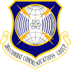 281st Combat Communications Group - 281st Combat Communications Group emblem