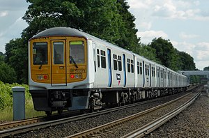 British Rail Class 319 - Thameslink 319373 and 319438 in July 2015