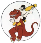327th Bombardment Squadron - World War II - Emblem