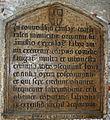 3908 Milano - Broletto - Iscrizione di Tommaso da Caponago, 1448 - Foto Giovanni Dall'Orto, 10-July-2007.jpg