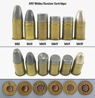 .455 Webley - Image: 455 Webley Revolver