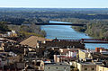 493 L'Ebre i els ponts del Mil·lenni i del Ferrocarril (Tortosa), des de la Suda.JPG