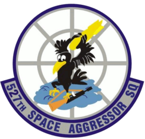 527th Space Aggressor Squadron - 527th Space Aggressor Squadron emblem