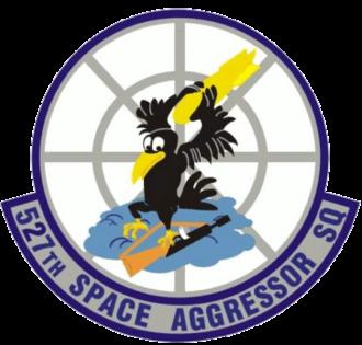 527th Space Aggressor Squadron - 527th Space Aggressor Squadron emblem