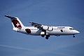 52bf - Crossair Avro RJ100; HB-IXN@ZRH;27.02.1999 (5256723403).jpg